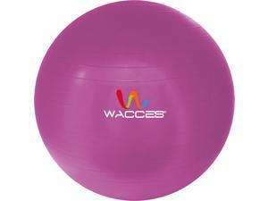 Wacces 55cm Green Fitness & Yoga Ball + Air Pump