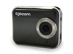 """OjoCam 3MP HD Dash Cam 16GB Bundle with Hardwire Cable Kit - 2.0"""" LCD Display, Super Wide Angel View, Smart Phone Connectivity via WiFi"""