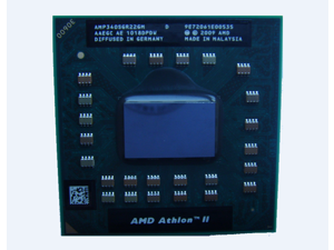 AMD Athlon II P340 2.2 GHz AMP340SGR22GM Sockel S1 (S1g4) Dual-Core CPU