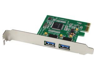 KEERUN 2 Ports USB 3.0 PCI Express Card with Etron EJ168 Chipset for Windows&MAC