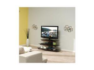 "SANUS BFAV550-CN1 Chestnut Waterfall design Audio Video Stand for AV Components and TVs up to 56"""