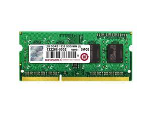 TRANSCEND INFORMATION TRANSCEND 2GB DDR3 1333 - PC3 10666 - SO-DIMM 204PIN - 256MX8 MAJOR BRAND CHIPS