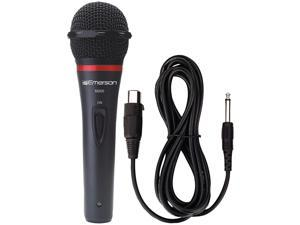 EMERSON M200 PROFESSIONAL MICROPHONE WITH DURABLE METAL CASE AND GRILL (REMOVABLE CORD)