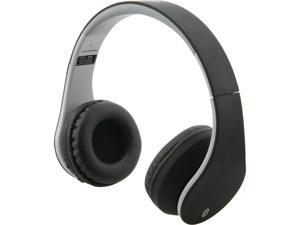 ILIVE IAHB64MB Bluetooth(R) Headphones with Auxiliary Input (Matte Black)
