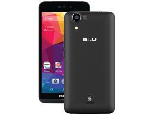 Blu Dash X LTE D0010UU Black Unlocked GSM Quad-Core Android Phone