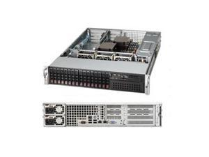 Supermicro SuperChassis CSE-213A-R740WB 740W 2U Rackmount Server Chassis (Black)