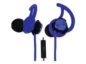 ECKO EKU-ROG-BL Rogue Hybrid Earbuds with Microphone (Blue)