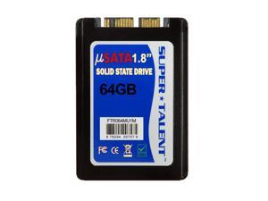 Super Talent DuraDrive KX4 64GB 1.8 inch mSATA Solid State Drive (MLC)