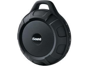 ISOUND ISOUND-6704 DuraTunes Water-Resistant Bluetooth(R) Speaker (Black)
