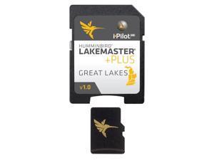 HUMMINBIRD LAKEMASTER PLUS CHART GREAT LAKES