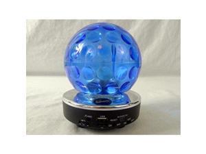 SuperSonic SC-1389BTBLU Blue Bluetooth Disco Ball Speaker