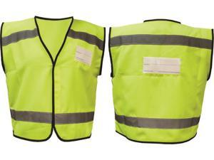 ACTION NYC DELIVERY W/ID POCKET YELLOW VEST