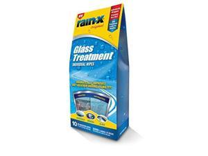 RAIN-X  630021 GLASS CLEANER TREATMENT INDIVIDUAL WIPES  10-COUNT