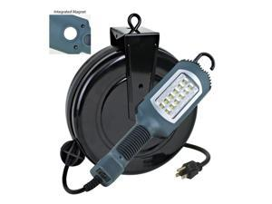 *HOT NEW ITEM* LED Cord Reel Shop Garage Repair Work Light 1000 Lumens