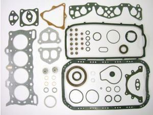 87 Honda CRX DX EW1/D15A2 1.5L 1488cc L4 12V SOHC Engine Full Gasket Replacement Kit Set FelPro: HS9219PT-1/CS9219-2