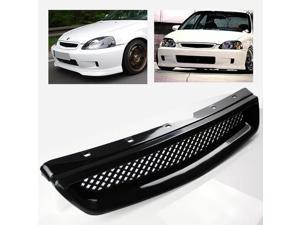 ModifyStreet® Black ABS Plastic JDM Mesh Sport Grille for 99-00 Honda Civic EK LX/DX/EX/Si