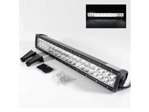 "21.5"" Universal Gen 2 40 LED Off Road 4X4 Spot/Flood Mount On Light Bar Lamp + Switch"