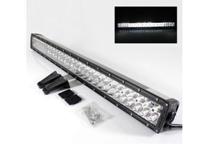 "31.5"" Gen 2 Off Road 60 LED Spot/Flood Light Bar 6000K Jeep Truck SUV ATV 4X4 + Switch"