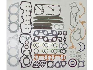 84-87 Nissan 300ZX VG30E 3.0L 2960cc V6 12V SOHC Engine Full Gasket Replacement Kit Set FelPro: HS9228PT/CS9228