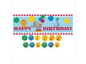 Circus Time! Giant Party Banner by Creative Converting - 295684