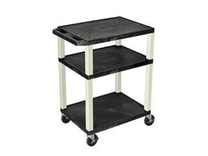 Black 18D x 24W x 34H Tuffy Cart