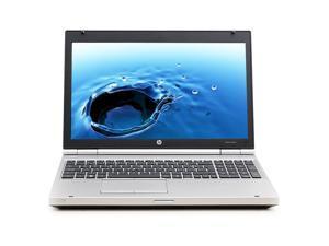 "HP EliteBook 8560p Intel i5 Dual Core 2600 MHz 128Gig SSD 4096mb DVD-RW 15.0"" WideScreen LCD Windows 10 Professional 64 Bit Laptop Notebook"