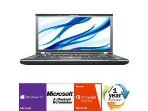 "Lenovo Thinkpad T520 Intel i5 Dual Core 2500MHz 320Gig Serial ATA 4096mb DVD ROM 15.0"" WideScreen LCD Windows 10 Professional 64 Bit Laptop Notebook"