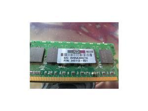 Hp 345113-851 1Gb 1 X 1Gb 400Mhz Pc23200 Cl3 Ecc Registered Ddr2 Sdram Dimm Genuine