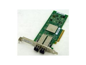 Refurbished: QLOGIC Qle2562-Sp Sanblade 8Gb Dual Channel Pcie X8 Fibre Channel Host Bus Adapter With Standard Bracket