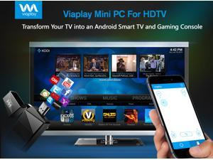 Viaplay T2 Quad Core Android Mini PC Smart TV Box Stick Dongle - Kodi (XBMC) 16.2 jarvis Fully Loaded - best rated streaming media player