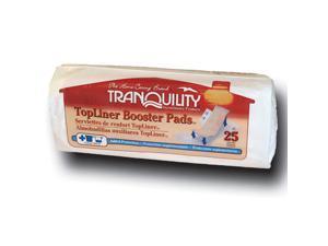 Tranquility 2070 TopLiner Booster Pad Medium Diaper Inserts 200/Case