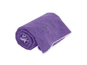 Gaiam 05-59189 Restore Thirsty Yoga Hand Towel-Deep Purple