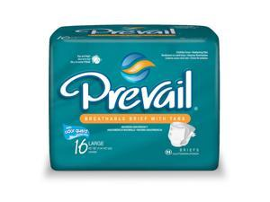 Prevail PV-013/1 Adult Briefs-Large-64/Case