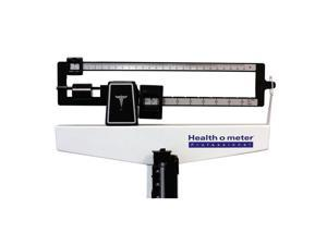 HealthOMeter 402LBWH (402LB & Wheels) Physician Balance Beam Scale