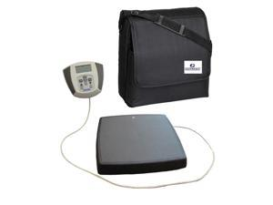 HealthOMeter 752KL Medical Weight Scale w/ AC Adapter & Carrying Case