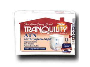 Tranquility 2187 All-Through-The-Night ATN Fitted Briefs, XL 72/case