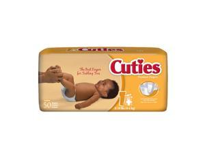 Cuties CR1001 Size 1 Baby Diapers 200/Case