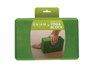 Gaiam 05-59186 Restore Yoga Block-Apple Green