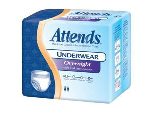 Attends APPNT20 Overnight Protective Underwear-Med-64/Case