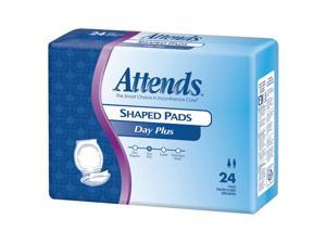 Attends SPDP Shaped Pads Day Plus-96/Case