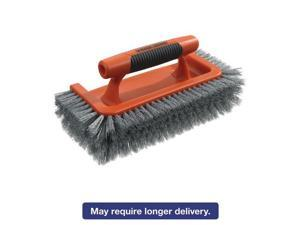"All Around Brush, Plastic, 10"" Brush, 1"" Bristles, Orange/Gray, 3 Box,2 Boxes/Ct BUT262002"