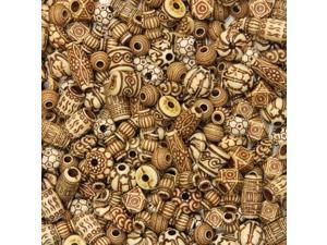 ChenilleKraft Mixed Bone Beads - 1 Set - Assorted CKC3259