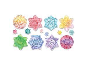 Snowflake Embossed Paper Set, 24Shts, White CKC4646