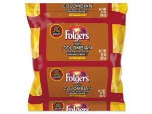 Coffee Filter Packs, 100% Colombian, 14 oz Pack, 4/Carton FOL10107