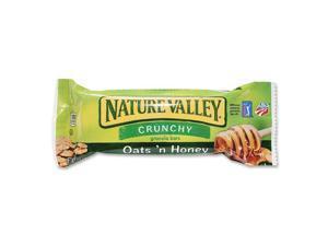 Granola Bars, Crunchy, 1.5 oz, 6BX/CT Oats 'N Honey GNMSN3353CT