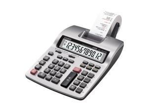 "Casio Printing Calculator - 12 Digit(s) - Battery/Power Adapter Powered - 2.5"" x 6.3"" x 10.6"" - Light Gray CSOHR150TMPLU"