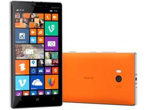 "Nokia Lumia 930 Rm-1045 Orange Snapdragon 800 Quad Core 2.2GHz 5.0"" 32GB 20MP Windows 8.1 Factory UNLOCKED Phone"