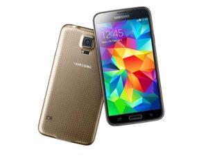 "Samsung Galaxy S5 Duos SM-G900FD 16GB Dual Sim Gold (FACTORY UNLOCKED) 5.1"" Full HD 16MP IP67"
