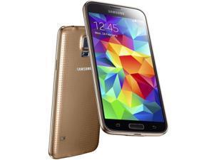 "Samsung Galaxy S5 Mini Duos SM-G800H 16GB Gold Dual Sim FACTORY UNLOCKED 4.5"""