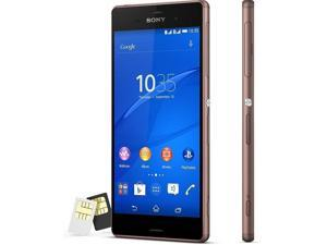 "SONY Xperia Z3 D6633 Dual Sim Cooper 4G LTE 5.2"" 16GB FACTORY UNLOCKED 3GB RAM. Smart Phone"